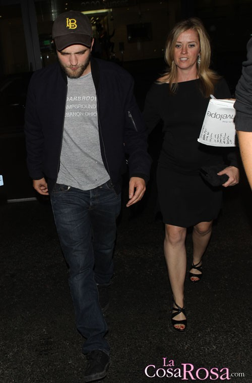 Robert Pattinson y Stephanie Ritz