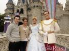 Kevin Jonas y Danielle Deleasa pasan su primer aniversario de boda en Disneyland