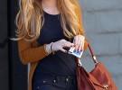 Lindsay Lohan realiza un posado y deja la rehabilitación en enero