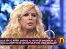 María Jiménez recuerda a su hija en La Noria