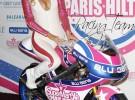 Paris Hilton revoluciona Madrid en la presentación de su equipo de motociclismo