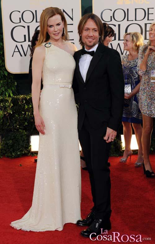 Globos de Oro 2011: Nicole Kidman y Keith Urban