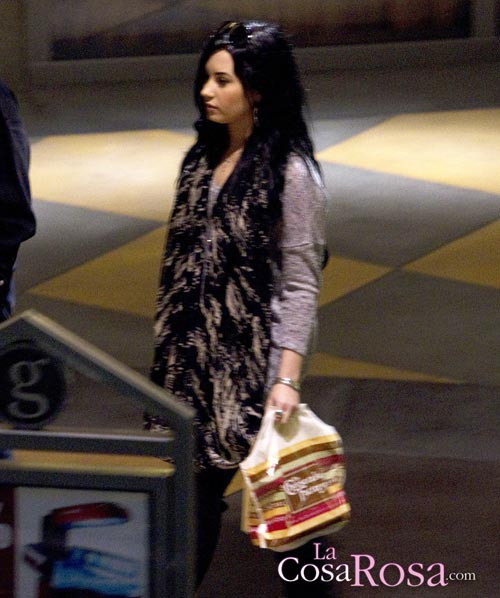 Demi Lovato acude a una clínica que trata desórdenes alimenticios