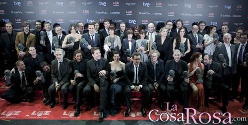 Ganadores de los Goyas 2011