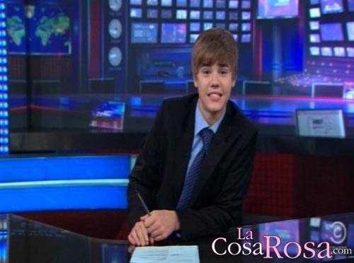 Justin Bieber en The Daily Show