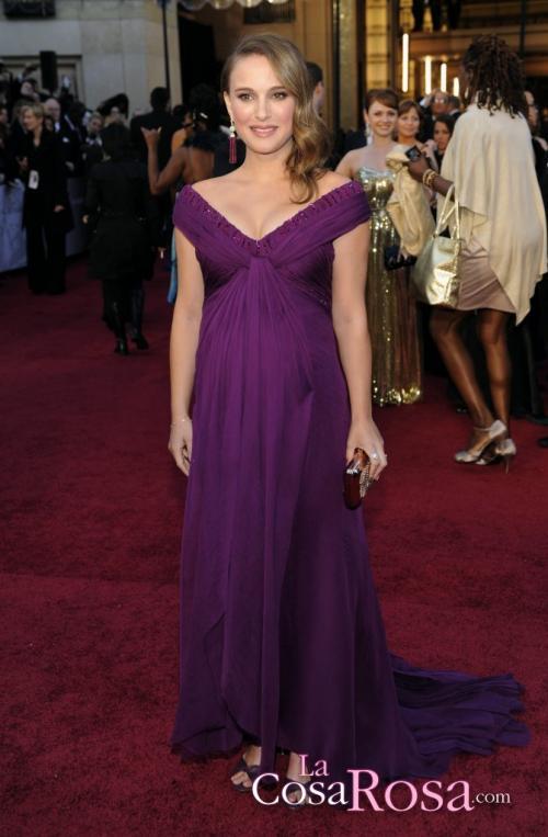 Natalie Portman en Los Oscar 2011