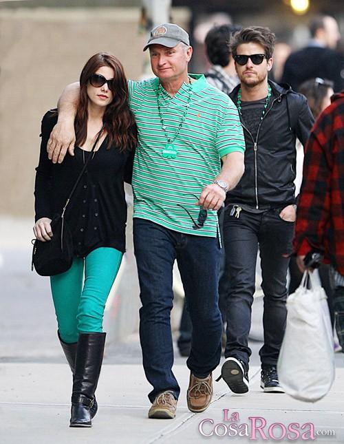 Ashley Greene se divierte con Jared Followill (Kings of Leon) en Nueva York
