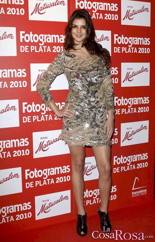 Clara Lago en la entrega de los Fotogramas de Plata 2010