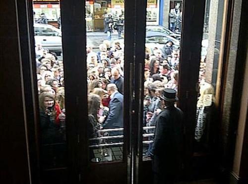 Fans de Justin Bieber en Liverpool