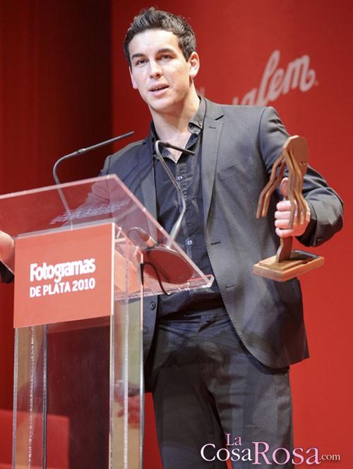 Mario Casas, en los fotogramas de Plata 2010