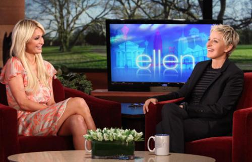 Paris Hilton y Ellen DeGeneres