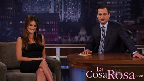 Penélope Cruz reaparece en el programa de Jimmy Kimmel