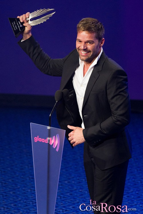 Ricky Martin, premios GLAAD