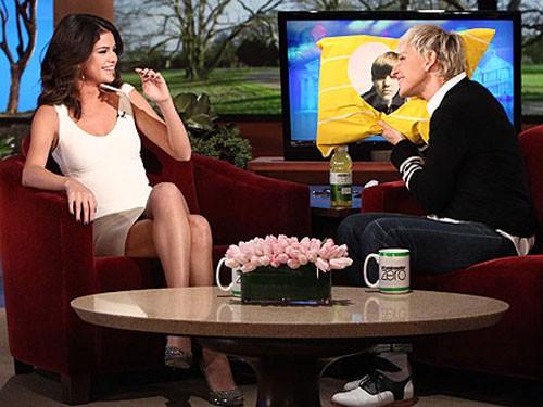 Selena Gomez y Ellen deGeneres