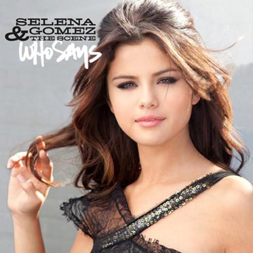 """Selena Gomez presenta la portada de su nuevo single """"Who says"""""""