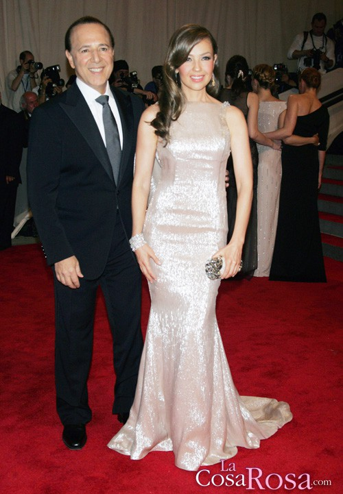 Thalía y Tommy Mottola esperan su segundo hijo
