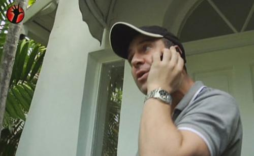 Víctor Sandoval y su tenso encuentro con Nacho Polo en Miami
