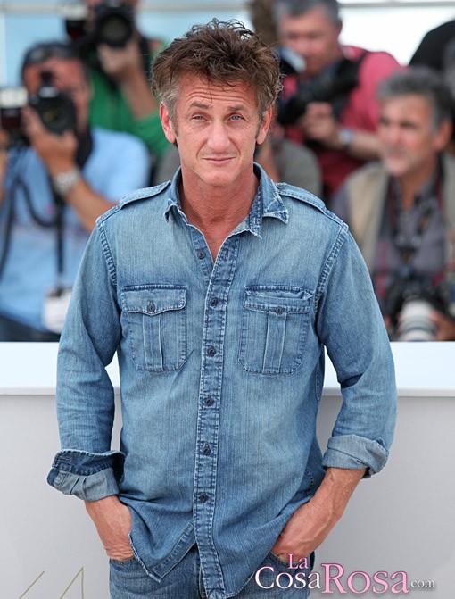 Sean Penn en el Festival de Cine de Cannes 2011