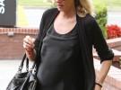 Kimberly Stewart y Benicio del Toro, padres de una niña