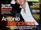 Antonio Banderas repasa su vida en pareja en AARP Magazine