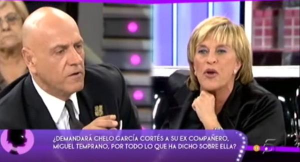 Chelo García Cortés se defiende de las acusaciones de Miguel Temprano