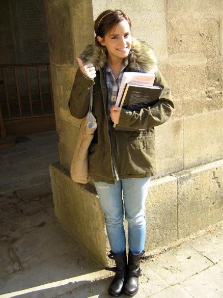 Emma Watson cambia Brown por Oxford