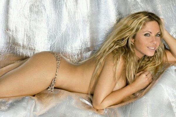 Elena, desnuda en Interviú