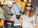 Rebecca Gayheart y Eric Dane, padres de otra niña