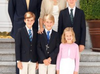 Felicitaciones de la Familia Real
