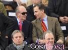 El Rey y el Príncipe asisten a la final de la Copa Davis