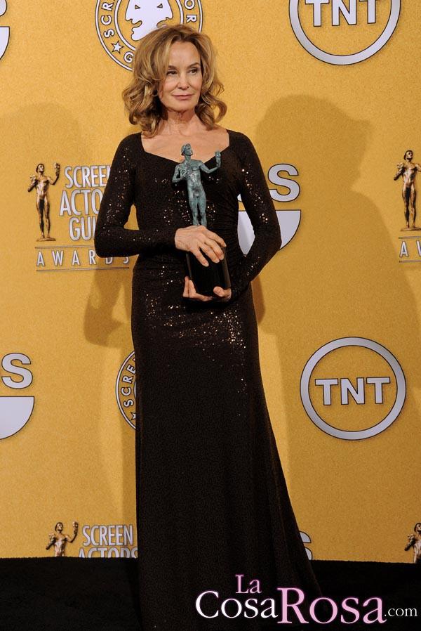 Jessica Lange, en los premios del Sindicato de Actores de Estados Unidos (SAG) 2012