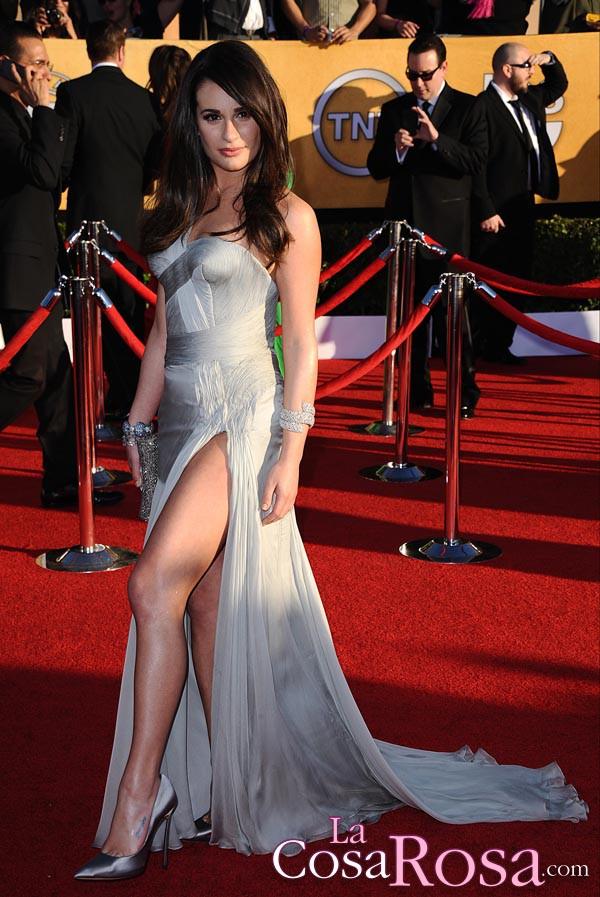Lea Michele, en los premios del Sindicato de Actores de Estados Unidos (SAG) 2012