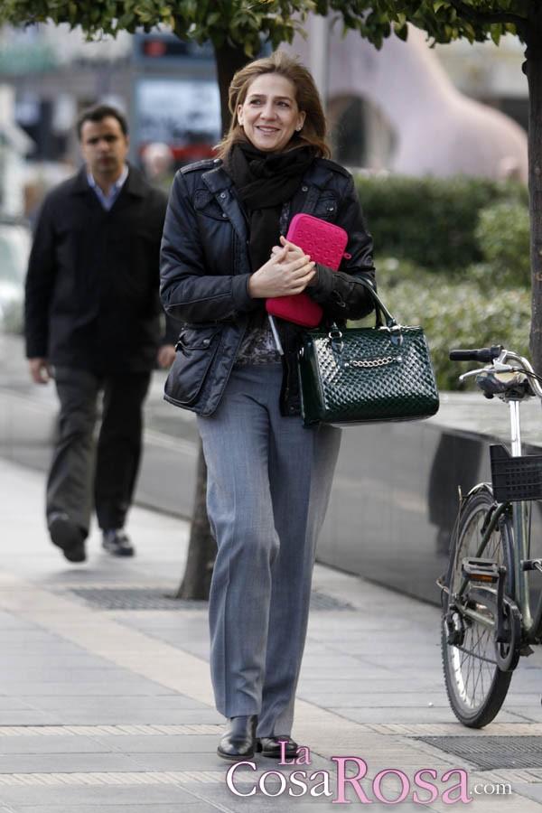 La infanta Cristina reaparece en Barcelona Infantacristinabarcelona