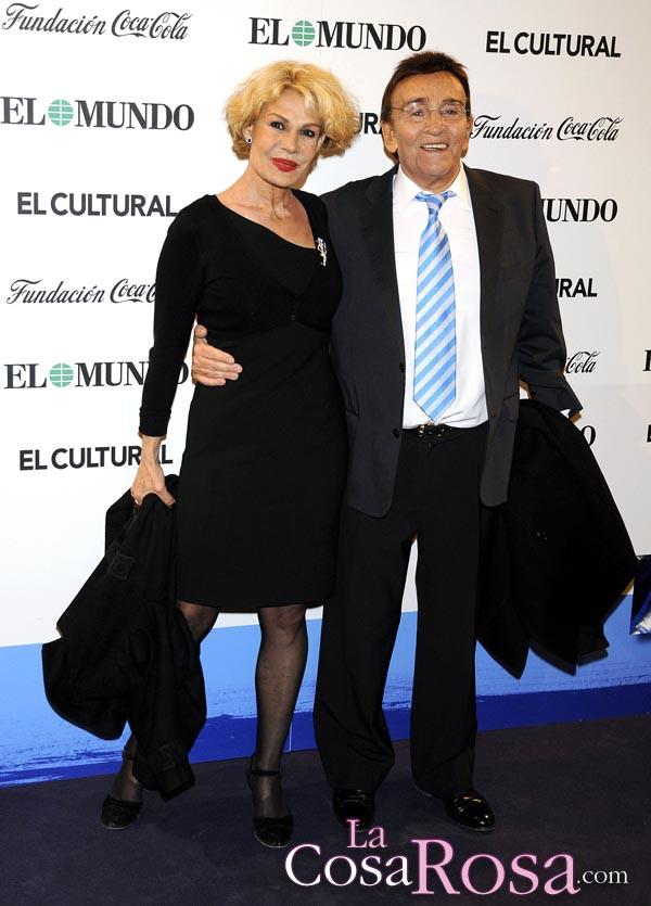 Pepe Rubio con su gran amiga Rosa Valenti