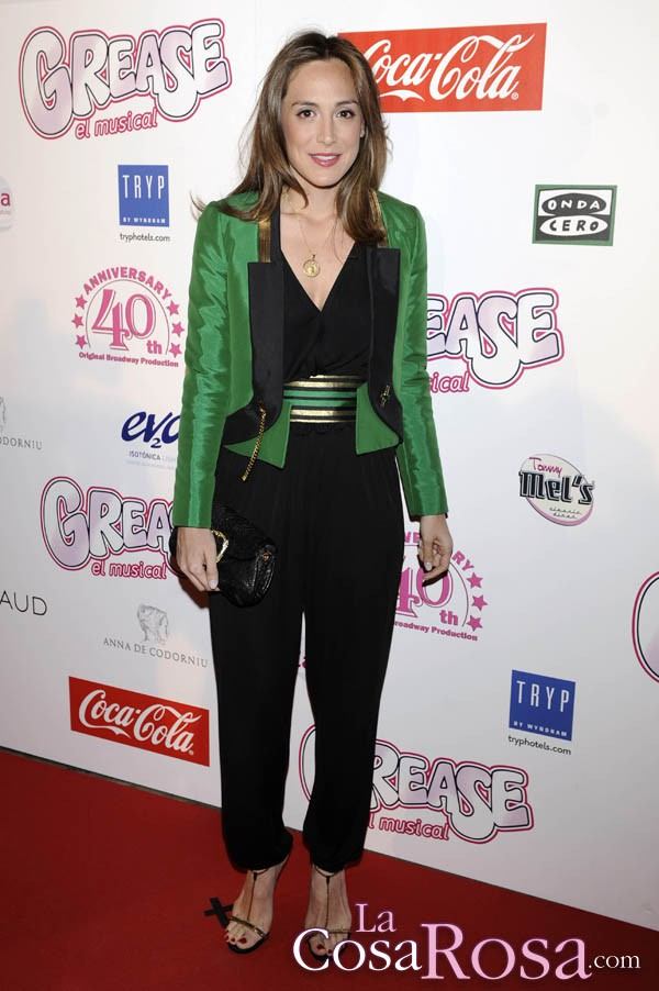 Tamara Falcó asiste al musical Grease