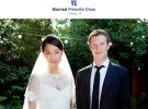 Mark Zuckerberg, creador de Facebook, se casa