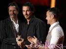 Christian Bale, emocionado por el tributo a Heath Ledger en los MTV Movie Awards 2012