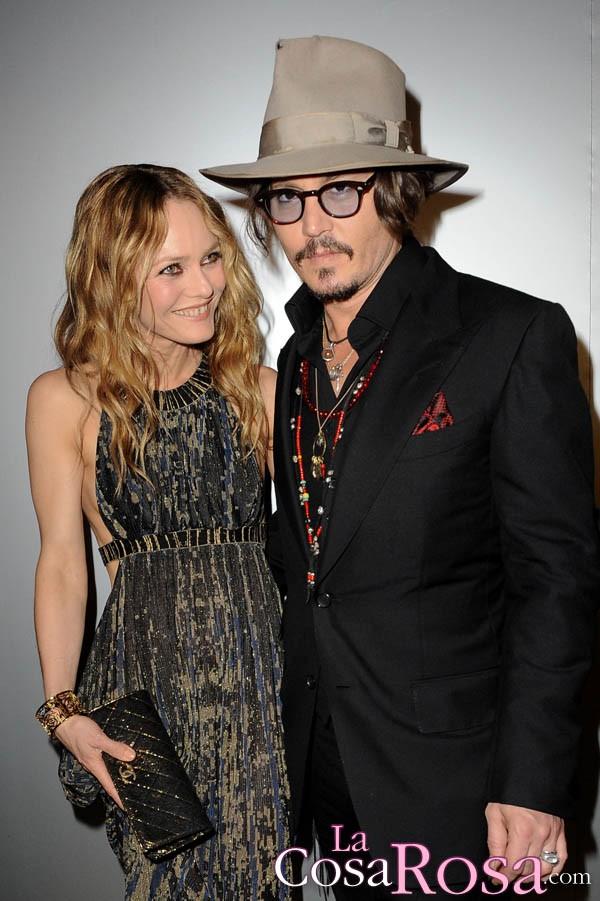 .Vanessa Paradis y Johnny Depp