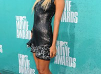 Paris Hilton en los MTV Movie Award 2012