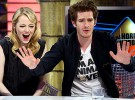 Emma Stone y Andrew Garfield, muy compenetrados en El Hormiguero 3.0
