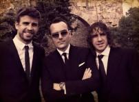 Risto Mejide con Piqué y Puyol