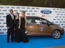 Antonio Banderas, Melanie Griffith y Stella del Carmen, juntos en la gala Starlite