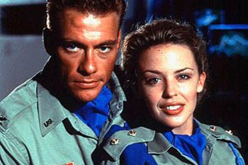 Jean-Claude Van Damme y Kylie Minogue tuvieron un affaire