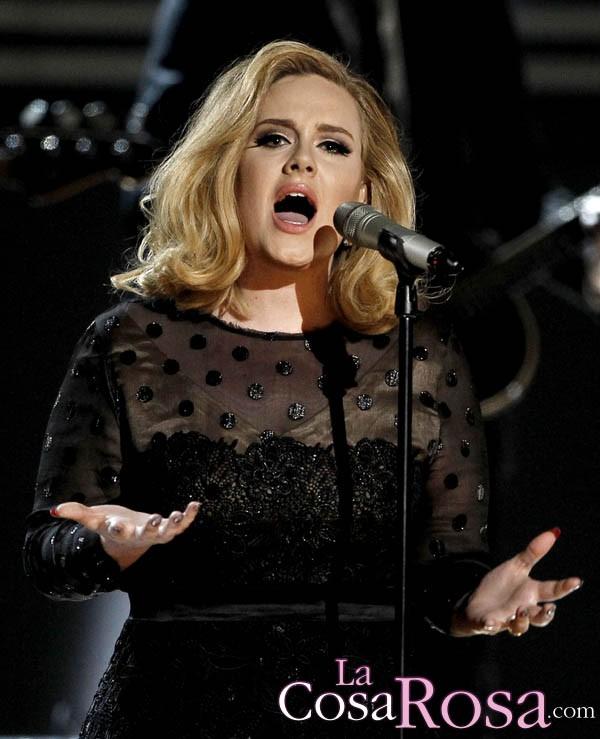 Adele planea reaparecer en la gala de los Globos de Oro 2013