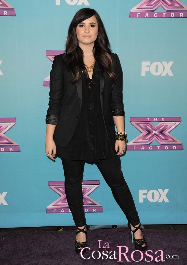 Demi Lovato recuerda su Nochevieja en rehabilitación