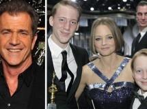 Mel Gibson podría ser el padre de los hijos de Jodie Foster