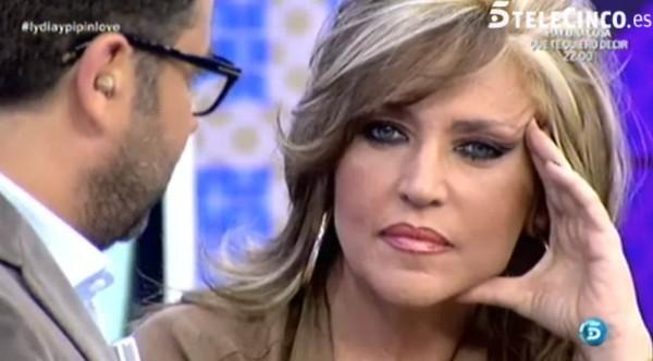 Lydia Lozano, muy arrepentida de su rollo de juventud con Pipi Estrada