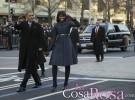 El nuevo look con flequillo de Michelle Obama