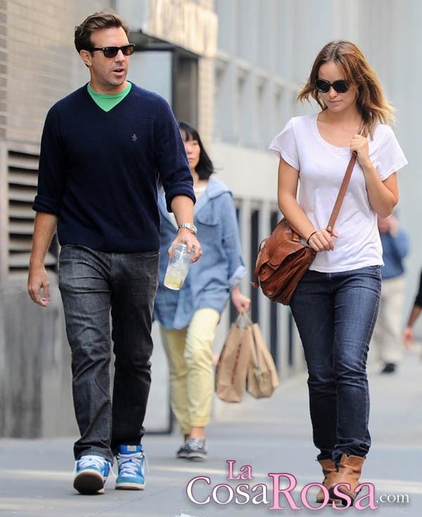 Olivia Wilde y Jason Sudeikis se comprometen