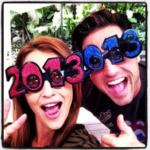 Los famosos dan la bienvenida a 2013